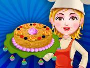 خبز كعكة التفاح