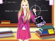العاب باربي العودة الى المدرسة