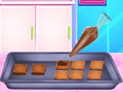 صانعة كعكة الشوكولاتة
