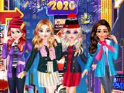 أميرة ديزني عشية رأس السنة الجديدة