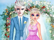 إلسا وجاك يوم الزفاف