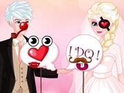 السا وجاك صور الزفاف
