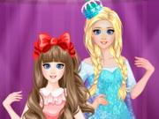 السا واختها اونا الذهاب للحفلة