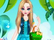 بنات تلبيس السا فروزن ملابس صيفية