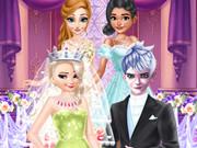 لعبة حفل زفاف السا وجاك الكبير