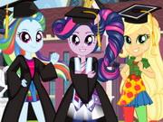 بنات اكوستريا حفل التخرج