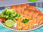 السمك والبطاطا