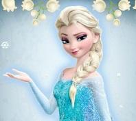 تلوين السا ملكة الثلج
