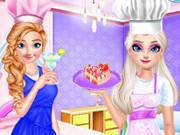 الأخوات المجمدة طبخ الشاي بعد الظهر