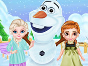 الاخوات المجمدة: مرح الثلج