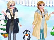 الاخوات المجمدة السفر الي القطب الجنوبي