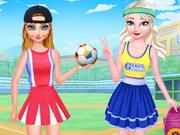 الأخوات المجمدة نمط رياضي