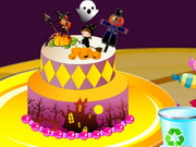 كعكة الهالوين
