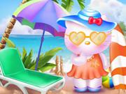 هيلو كيتي مرح الشاطئ