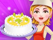 كعكة الليمون