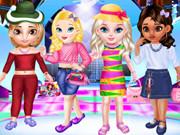 مسابقة أزياء الأميرات الصغيرات