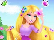 إنقاذ الأميرة ذات الشعر الطويل