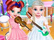 الأميرات الجميلات في فصل الموسيقى