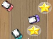 لعبة سباق السيارات الصغيرة القديمة