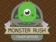 مونستر راش برج الدفاع