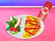 الأميرة اريل طبخ الإفطار 1