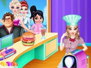 الأميرة الحسناء الطبخ داش