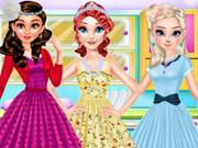 تلبيس بنات ملابس كلاسيكية قديمة