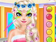 الأميرات صالون رسم الوجه