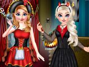 الأميرات عيد الهالوين السعيد