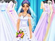 ربانزل مصممة فستان الزفاف 2
