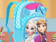 حقيبة مدرسية الظهر ضد العربة