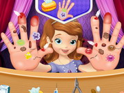 sofia the first hand doctor
