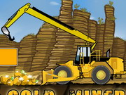لعبة عامل منجم الذهب لاعبين