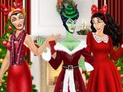 الاشرار الثلاثة تصميم حفل الكريسماس