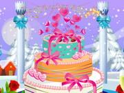 كعكة الزواج البيضاء