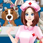 مستشفى علاج الحيوانات الاليفة اللطيفة