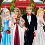 حفلة زواج آنا وكريستوف