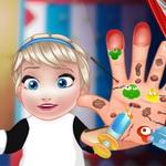 دكتور يد طفل السا