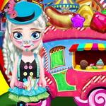 بيبي السا يوم بيع الحلوى