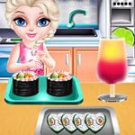 بيبي إلسا طبخ السوشي