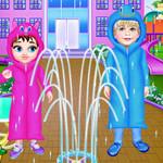 طفل تايلور رعاية قصة يوم ممطر