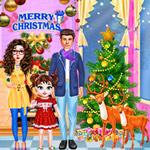 طفلة تايلور كريسماس سعيد