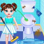 طفل تايلور تنظيف المنزل
