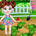 طفل تايلور وقت زراعة البطيخ