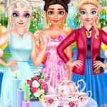 حفلة شاي الصيف Bffs