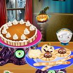 طبخ غذاء الهالوين