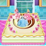 طبخ كعكة اميرة ديزني