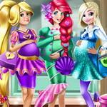 أميرات ديزني الامهات الحاملات