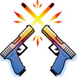 المسدسات المزدوجة