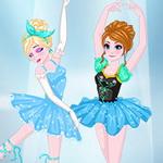 إلسا وآنا راقصات الباليه